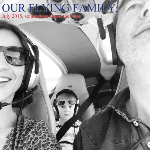 Our flying family