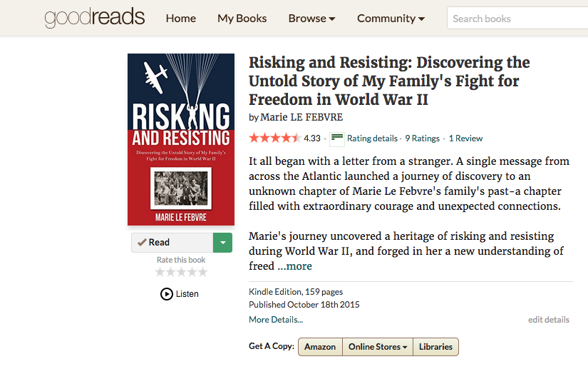 GoodReads Rating Risking Resisting